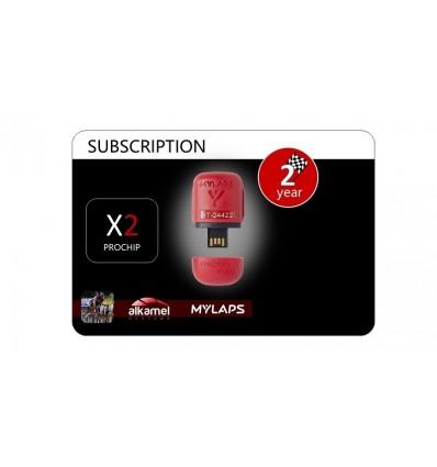 2 Year ProChip Subscription Card Transponder FLEX